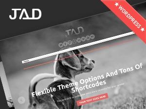 Best WordPress theme Jad