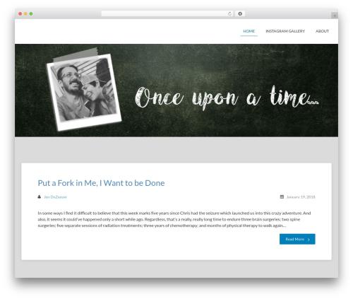 Bloggerz best free WordPress theme - waitingforthecircus.com