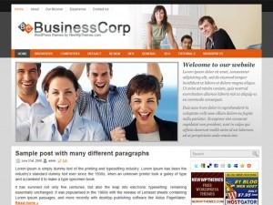 Business Corp business WordPress theme