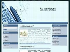 Business Idea company WordPress theme