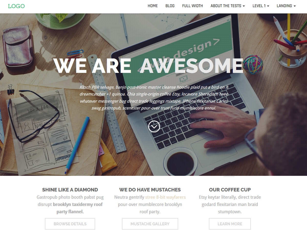 Business Press WordPress store theme