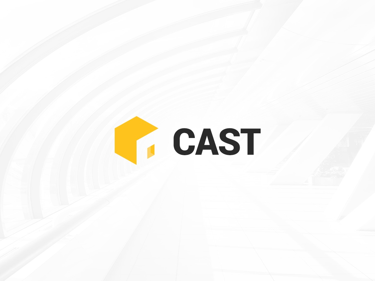 Cast WordPress theme