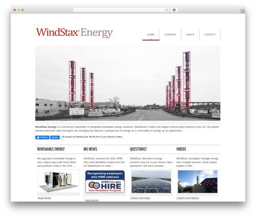 cleancorp template WordPress - windstax.com