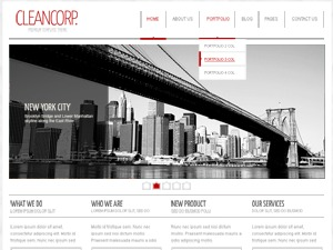 cleancorp WordPress website template