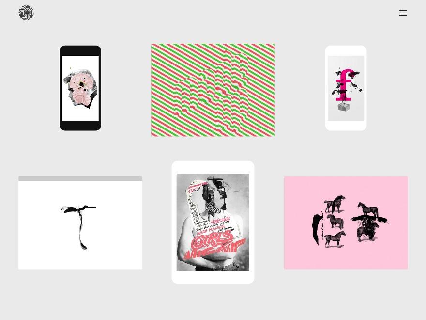 Colors Creative theme WordPress portfolio