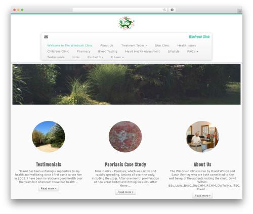 Customizr Pro WordPress website template - windrushclinic.co.uk