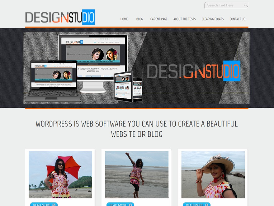 D5 Design WordPress template free