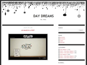 Daydreams WordPress template