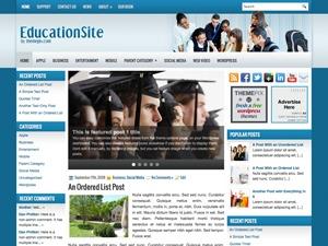 EducationSite WordPress blog template