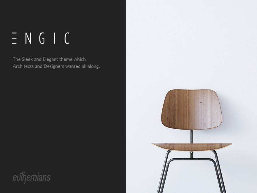 Engic WordPress template for business