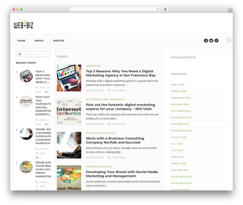 Entrepreneurship by MyThemeShop WordPress shop theme - web-biz.org