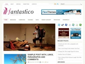 Fantastico WordPress theme
