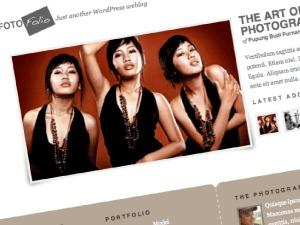 Fotofolio WordPress photo theme
