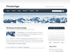 FrozenAge WordPress theme
