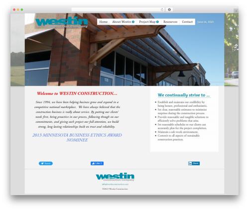 Free WordPress Async Social Sharing plugin - westinconstruction.com