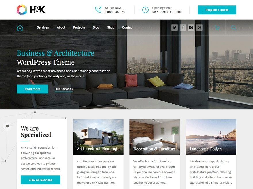 HnK premium WordPress theme