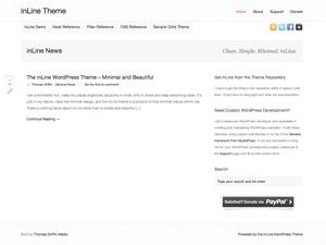 inLine WordPress theme
