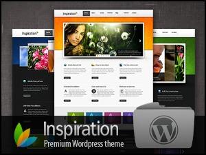 Inspiration (Premium) personal WordPress theme