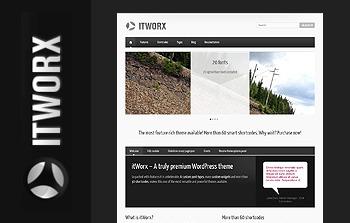 ITWORX personal blog WordPress theme