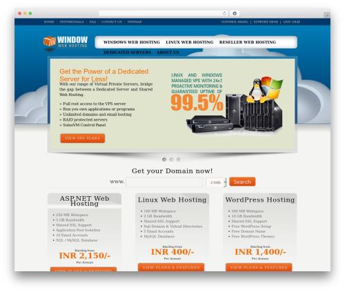 Karma best WordPress theme - windowwebhosting.com