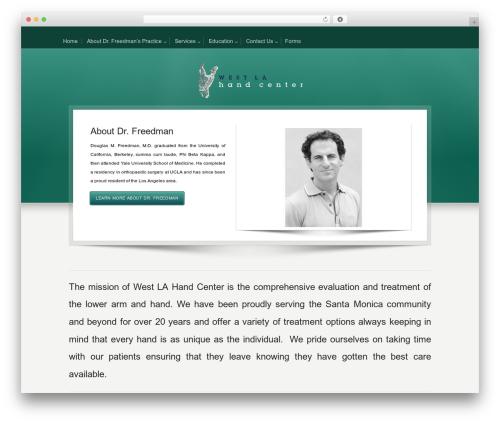 Karma WordPress theme - westlahand.com