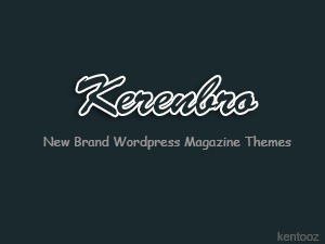 Kerenbro WordPress blog theme