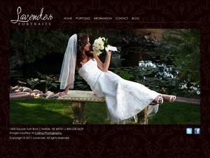 Lavender WordPress gallery theme