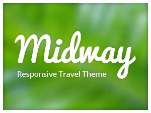 Midway (shared on wplocker.com) WordPress travel theme