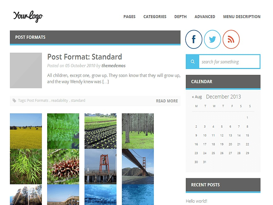 MiniMagazine WordPress news template