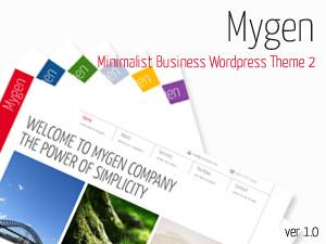 Mygen WordPress template for business