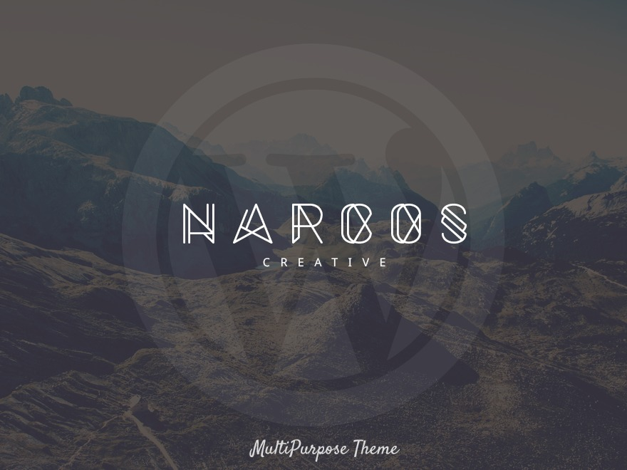 Narcos WordPress template