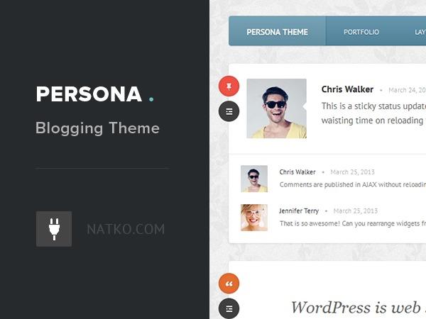 Persona Theme business WordPress theme