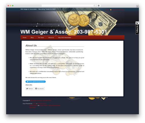 Free WordPress Rimons Twitter Widget plugin - wmgeiger.com