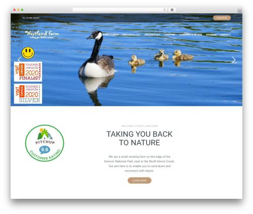 Postcard best WordPress theme - westlandfarm.co.uk
