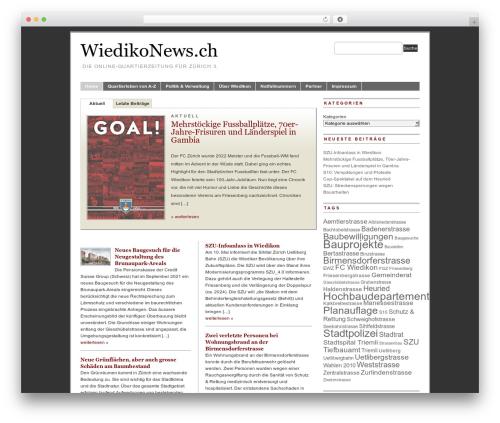 PRiNZ BranfordMagazine 3.0 top WordPress theme - wiedikonews.ch