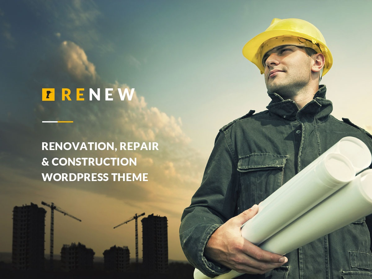 Renew WordPress magazine theme