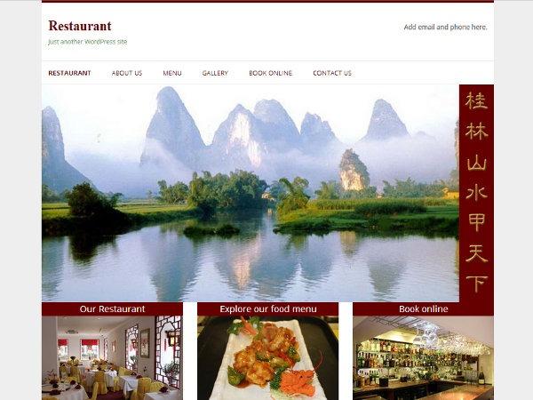 Restaurant WordPress restaurant theme