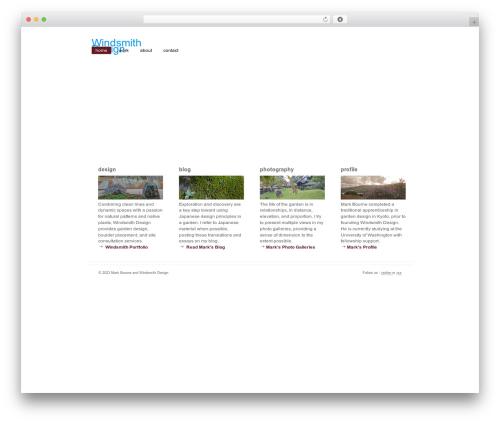 Revival WordPress template - windsmithdesign.com