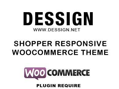Shopper Responsive WordPress Woocommerce Theme WordPress ecommerce theme