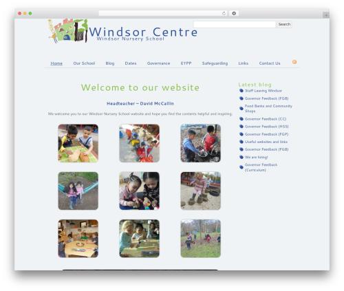 Simon WP Framework WordPress website template - windsorcentre.com