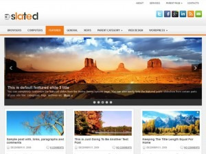 Slated theme WordPress