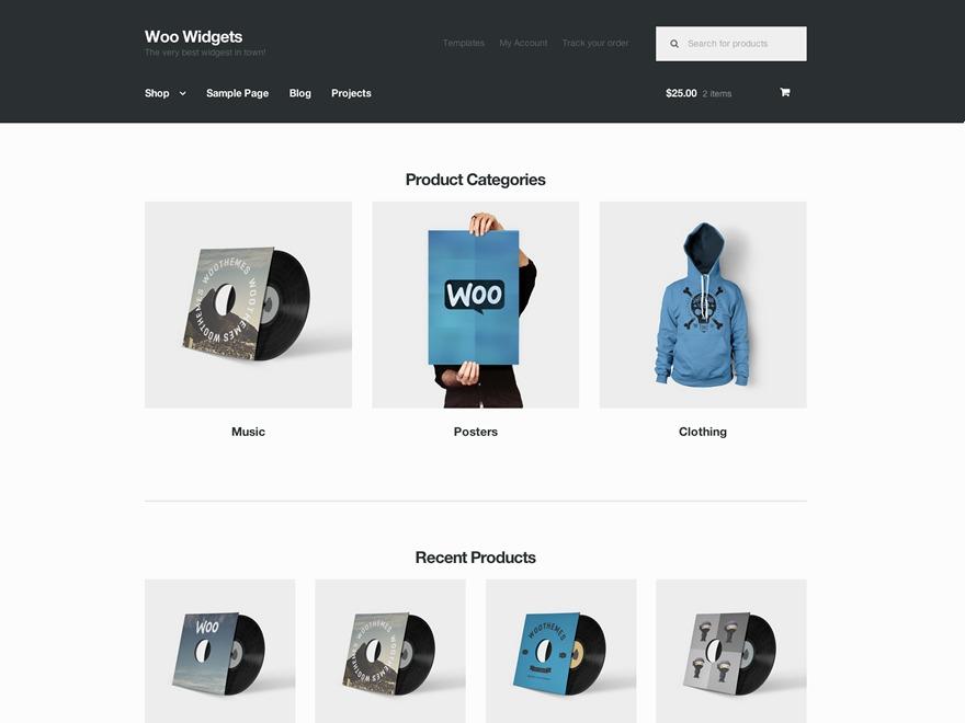 Storefront Child best WooCommerce theme