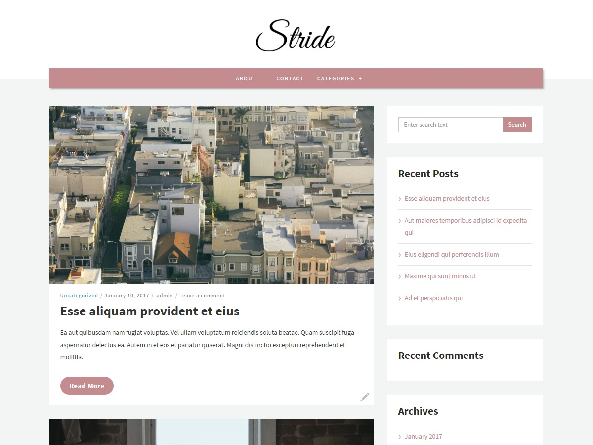 Stride lite theme free download
