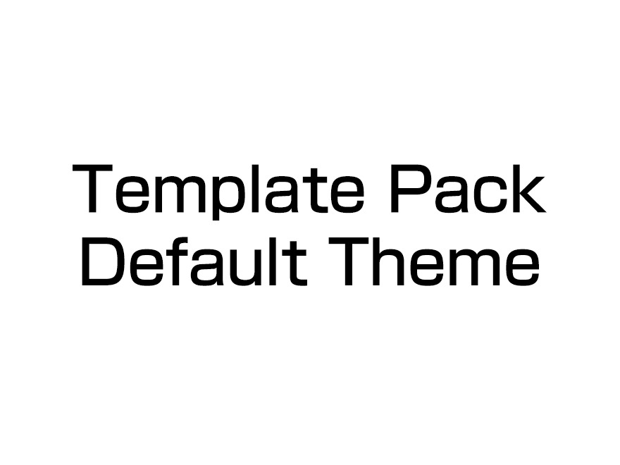 Template-theme template WordPress