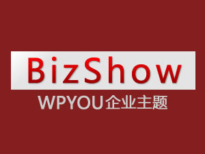 Template WordPress BizShow-Blue