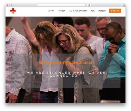 Template WordPress NOO Dreamer - we-connect.tv