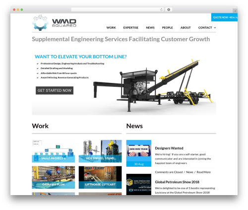 TheFox WordPress theme - wmd2.net