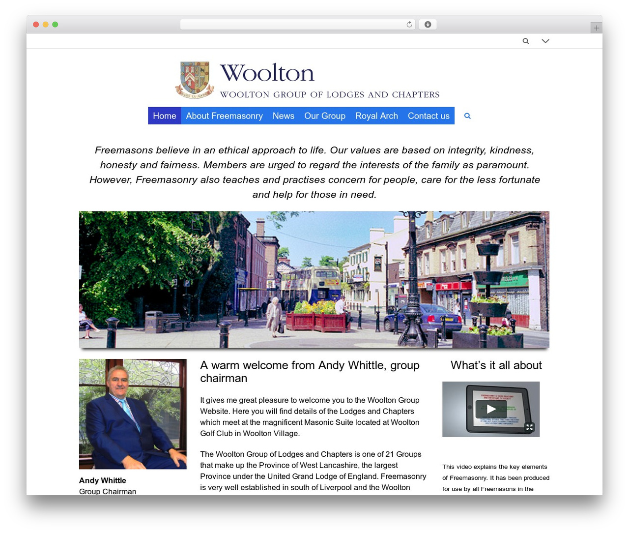Theme WordPress 3clicks Theme - woolton.westlancsfreemasons.org.uk