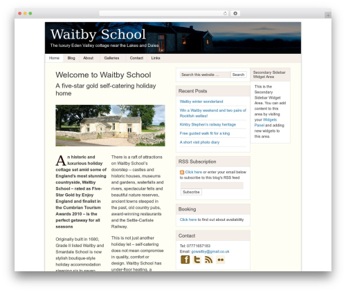 Theme WordPress Genesis - waitbyschool.com