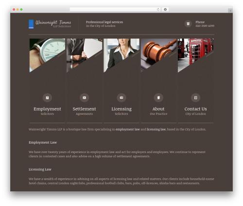 Themis - Law Lawyer Business WordPress Theme company WordPress theme - wainwrighttimms.com